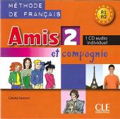 Amis et compagnie 2. CD audio individuelle (аудіодиск до робочого зошита) - фото обкладинки книги