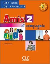 Amis et compagnie 2 Livre (підручник) - фото обкладинки книги