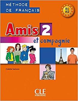 Amis et compagnie 2 Livre (підручник) - фото книги