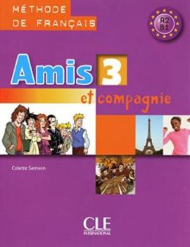 Amis et compagnie 3 Livre (підручник) - фото книги