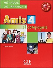 Amis et compagnie 4 Livre (підручник) - фото обкладинки книги