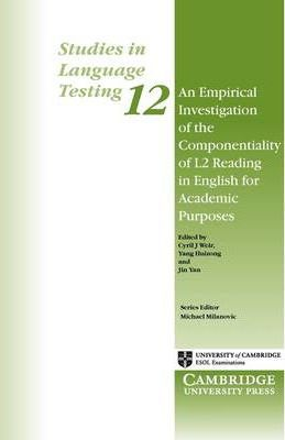 Посібник An Empirical Investigation of the Componentiality of L2 Reading in English for Academic Purposes