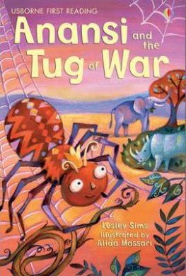 Anansi and the Tug of War - фото книги
