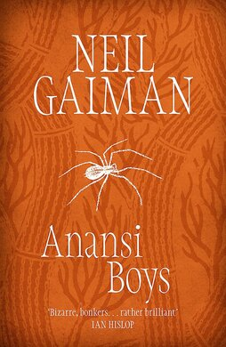 Anansi Boys - фото книги