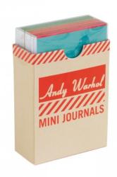 Andy Warhol Philosophy Mini Journal Set - фото обкладинки книги