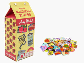 Andy Warhol Wooden Magnetic Shapes - фото книги