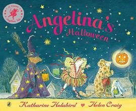 Книга Angelina's Halloween