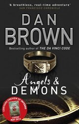 Angels And Demons : (Robert Langdon Book 1) Paperback - фото обкладинки книги