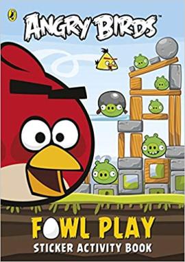 Angry Birds: Fowl Play Sticker Activity Book - фото книги