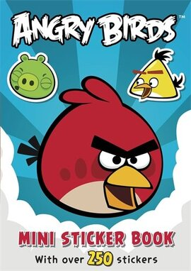 Angry Birds: Mini Sticker Book - фото книги