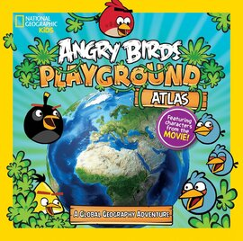 Angry Birds Playground Atlas. A Global Geography Adventure - фото книги