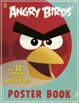 Angry Birds Poster Book - фото книги