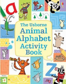 Animal Alphabet Activity Book - фото книги