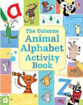 Книга Animal Alphabet Activity Book