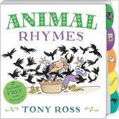 Animal Rhymes (My Favourite Nursery Rhymes Board Book) - фото обкладинки книги