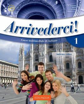 Arrivederci! 1 Libro dello studente ed esercizi + CD audio (підручник + роб.зошит+аудіодиск) - фото книги