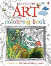 Art Colouring Book - фото обкладинки книги