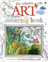 Книга Art Colouring Book