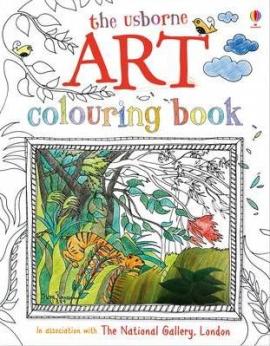 Книга Art Colouring Book