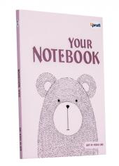 Artbook B6, light pink - фото обкладинки книги