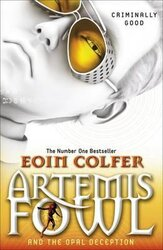 Artemis Fowl and the Opal Deception - фото обкладинки книги