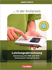 Arztpraxis. Leistungsabrechnung Arbeitsbuch - фото обкладинки книги