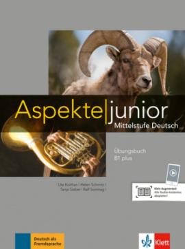 Aspekte Junior B1 plus bungsbuch - фото книги