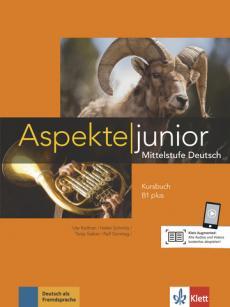 Підручник Aspekte Junior B1 plus Kursbuch