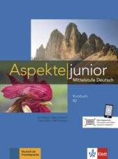 Aspekte junior B2+Kursbuch - фото обкладинки книги