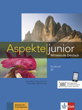 Aspekte junior B2+Kursbuch - фото книги