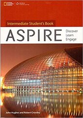 Aspire Intermediate: Discover Learn Engage - фото обкладинки книги