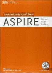 Aspire Intermediate: Teacher's Book with Audio CD - фото обкладинки книги