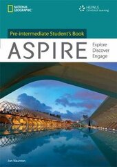 Aspire Pre-Intermediate : Discover Learn Engage - фото обкладинки книги