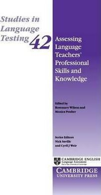 Assessing Language Teachers' Professional Skills and Knowledge - фото книги