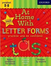 At Home With Letter Forms - фото обкладинки книги