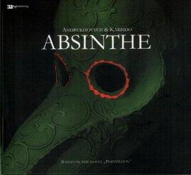 "Аудіодиск ""Absinthe"" Andrukhovych & Karbido - фото книги"