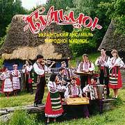 """Аудіодиск """"Будьмо!"""" Український ансамбль народної музики - фото книги"""
