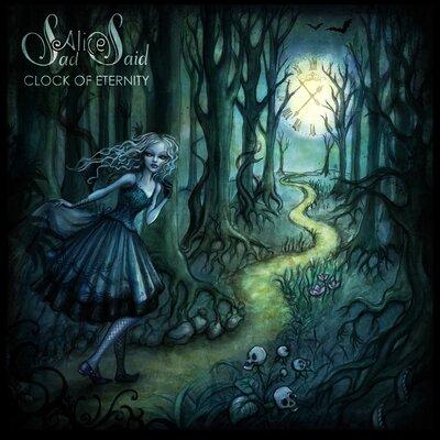 """Аудіодиск """"Clock of eternity"""" Sad Alice Said"""