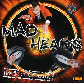"Аудіодиск ""Made in Ukraine"" Mad Heads - фото книги"