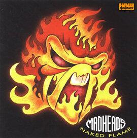 """Аудіодиск """"Naked Flame"""" Mad Heads - фото книги"""