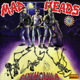 "Аудіодиск ""Psycholula"" Mad Heads - фото книги"