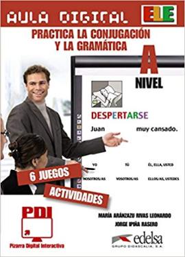 Aula Digital: Practica La Conjugacio'n y la Grama'tica Nivel A - фото книги