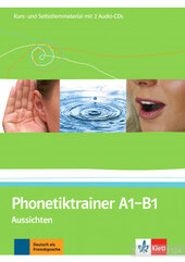 Aussichten: Phonetiktrainer A1 - B1 Kurs- und Selbstlernmaterial mit 2 Audio-CDs - фото обкладинки книги