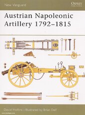 Austrian Napoleonic Artillery 1792-1815 - фото обкладинки книги