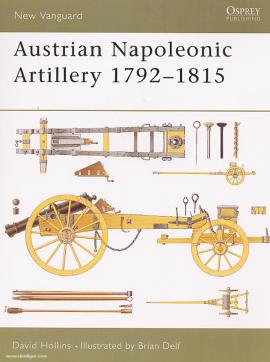Austrian Napoleonic Artillery 1792-1815 - фото книги