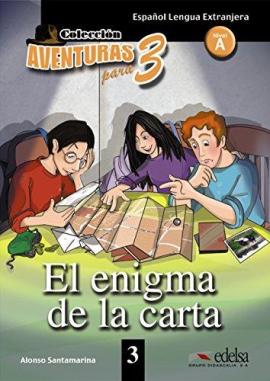 Aventuras para 3 (A1). El enigma de la carta. Book 3 - фото книги