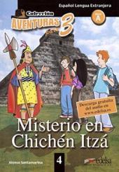 Aventuras para 3 (A1). Misterio en Chichen Itza. Book 4 - фото обкладинки книги