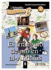 Aventuras para 3 (A2). El numero 3 en al- Andalus. Book 8 - фото обкладинки книги