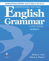 Azar Understanding and Using English 4rd Ed Grammar Student Book+CD+key (підручник) - фото обкладинки книги