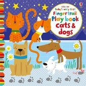 Baby's Very First. Fingertrail Play book. Cats and Dogs - фото обкладинки книги
